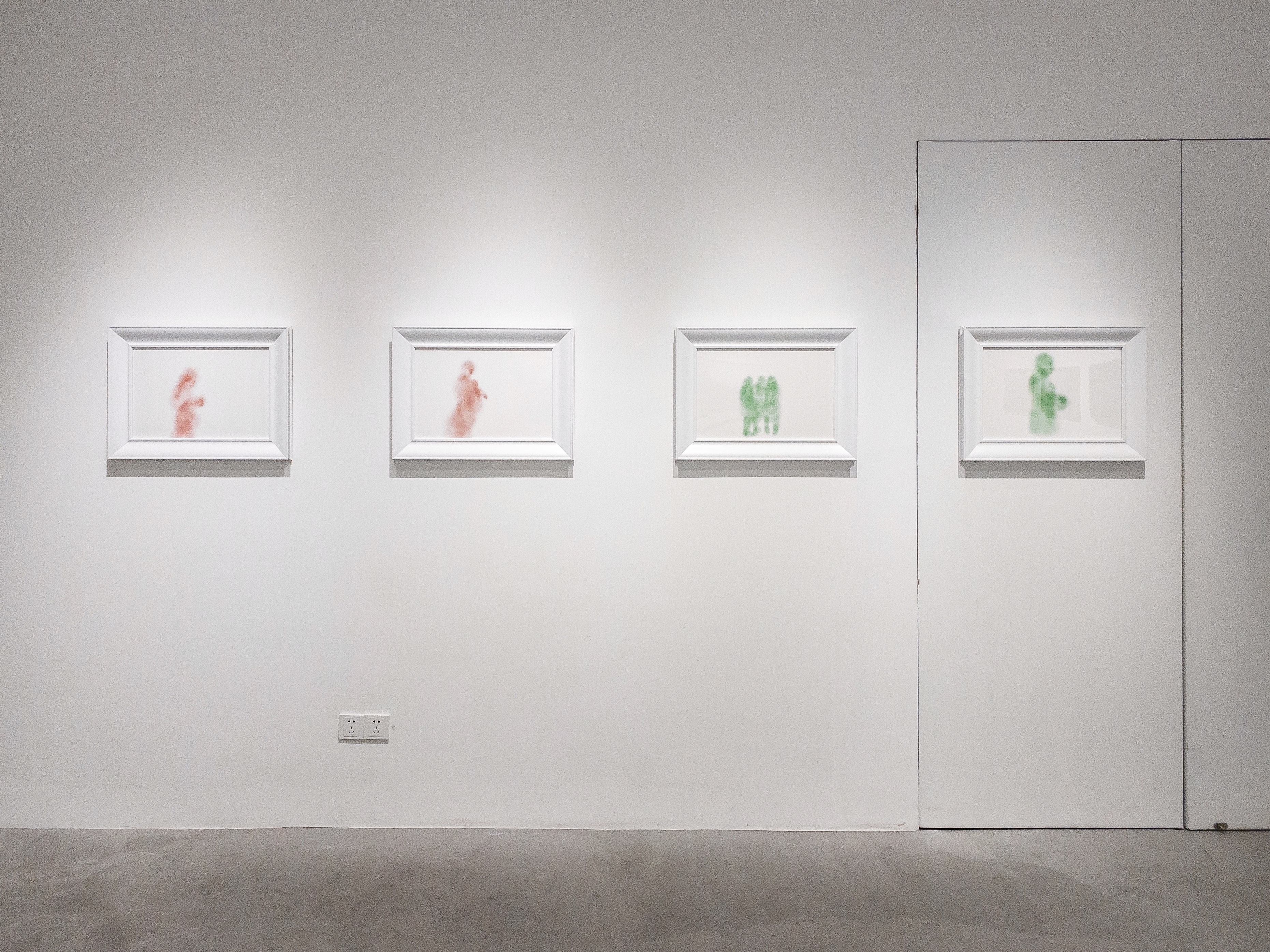 Installation view of Concealed Light