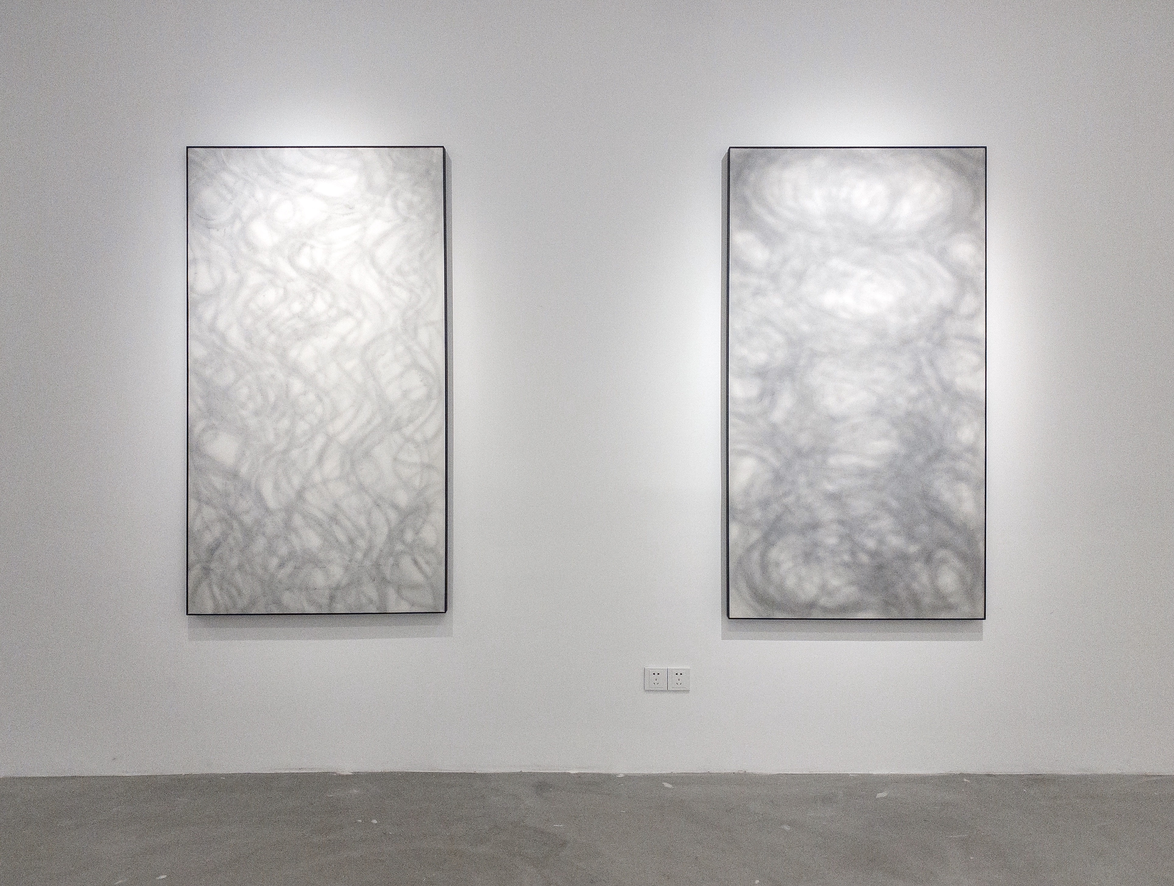 Wang Chao,Concealed NO.3 (left) & Concealed NO.4 (right)
