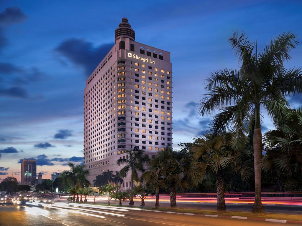 Shangri-La Hotel, Yang on, Myanmar