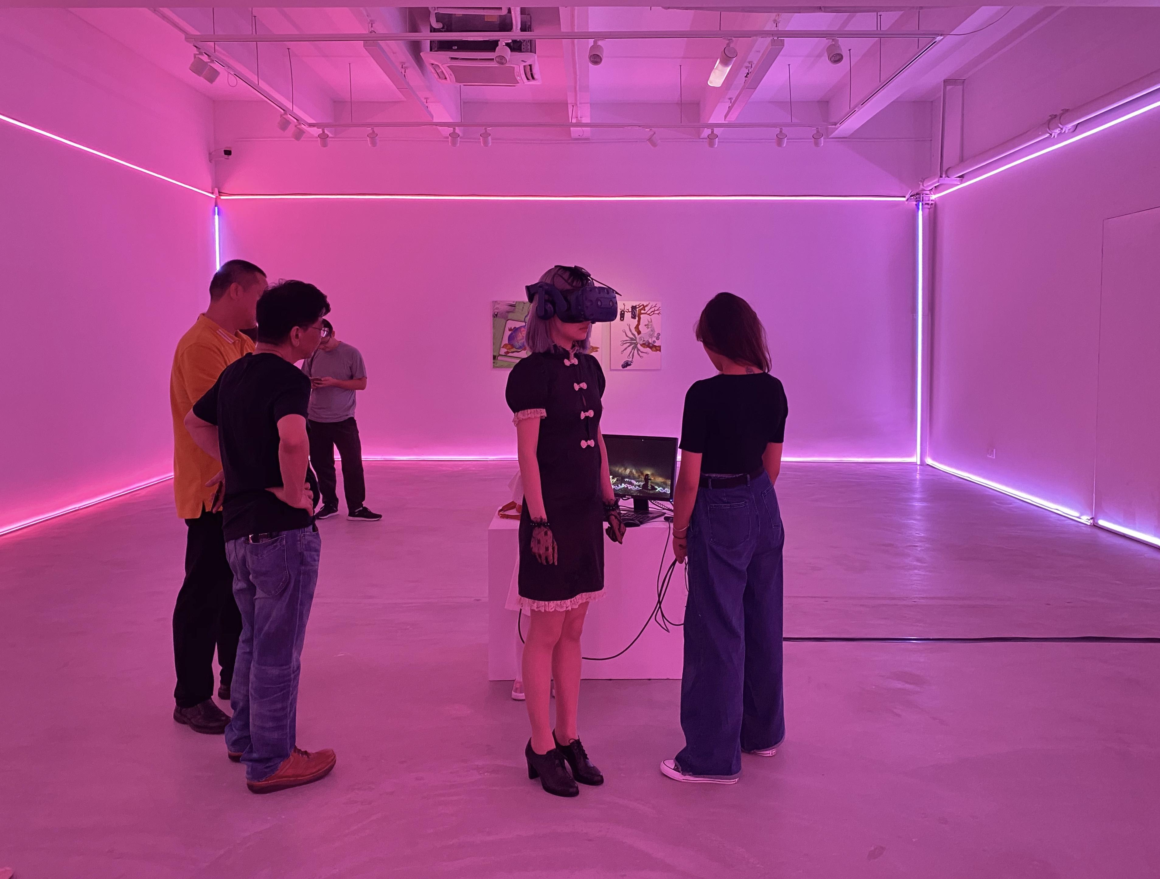VR体验现场