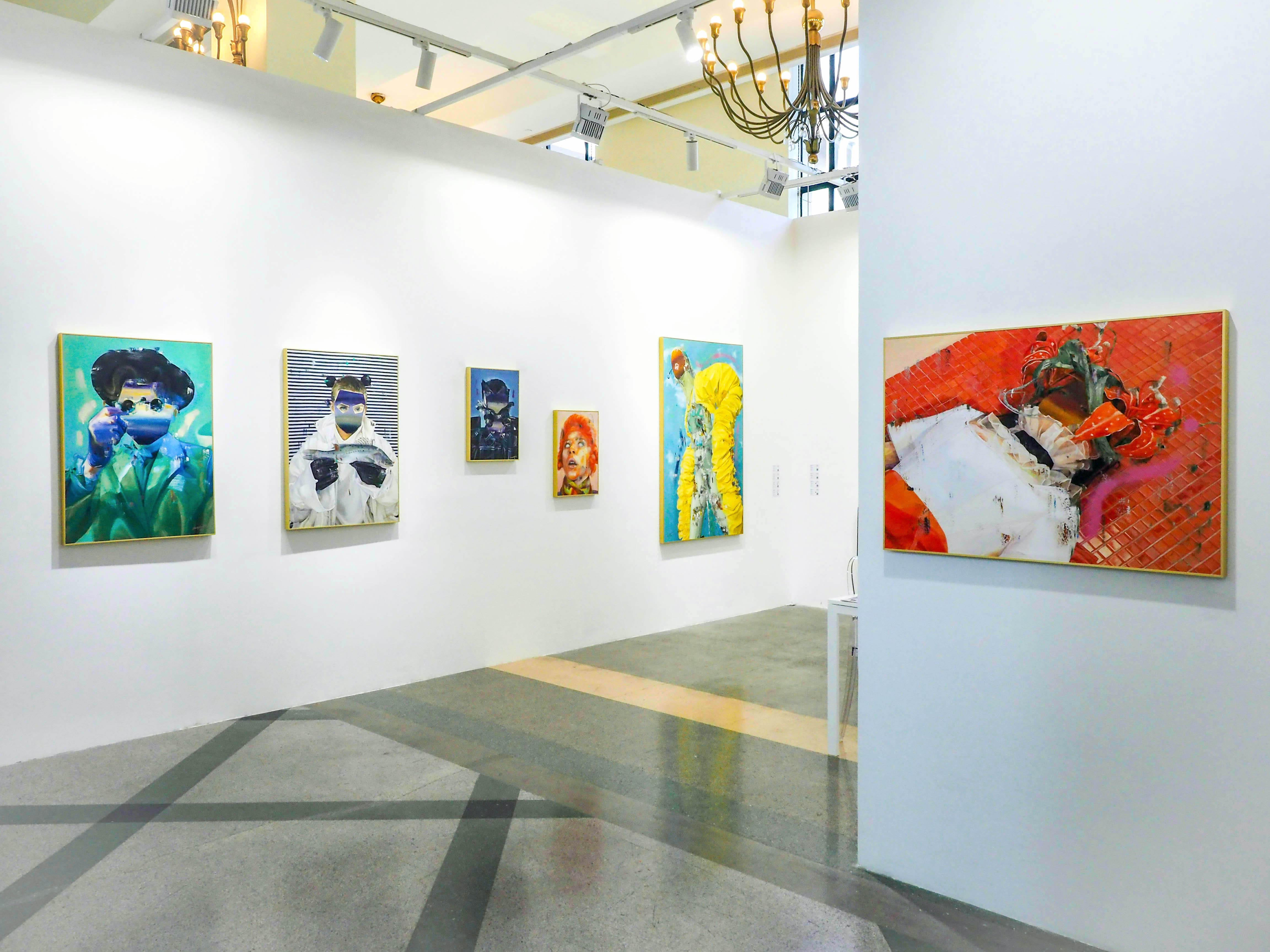 ART 021量子画廊展位现场